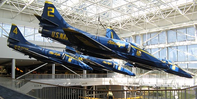A-4F_Skyhawk_(Blue_Angels),_Naval_Aviation_Museum,_Pensacola,_Florida smaller.jpg